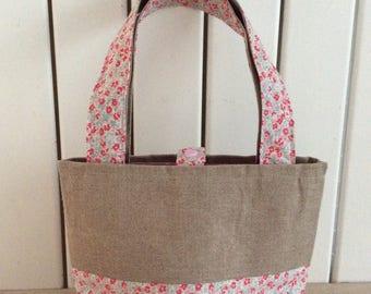 Tote bag, purse, mini small bag pattern, mini tote bag