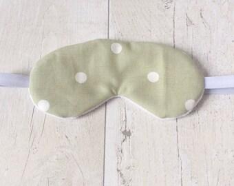 Cotton sleep mask/ travel eye mask.