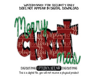 Merry Christmas SVG/PNG/DXF Digital cut file