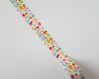 Fitness Workout Washi Tape - Full Roll