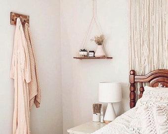 Hanging Shelf/ Reclaimed Wood/ Reclaimed Wood Shelf/ Pallet/ Pallet Shelf/ Pallet Art/ Rustic Home Decor/ Reclaimed Wood Hanging Shelf