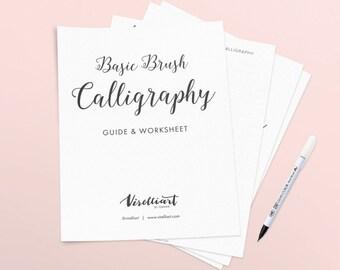 Basic Brush Calligraphy Starter Kit