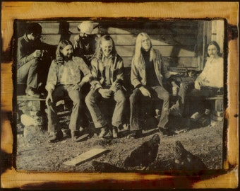 The Allman Brothers Band - Wooden Plaque