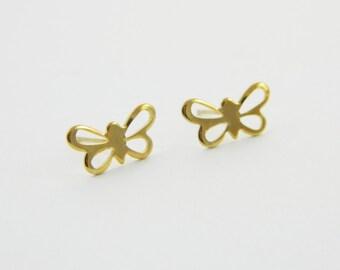 Butterfly Cutout Earrings