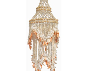 Seashell Chandelier Light pendant.