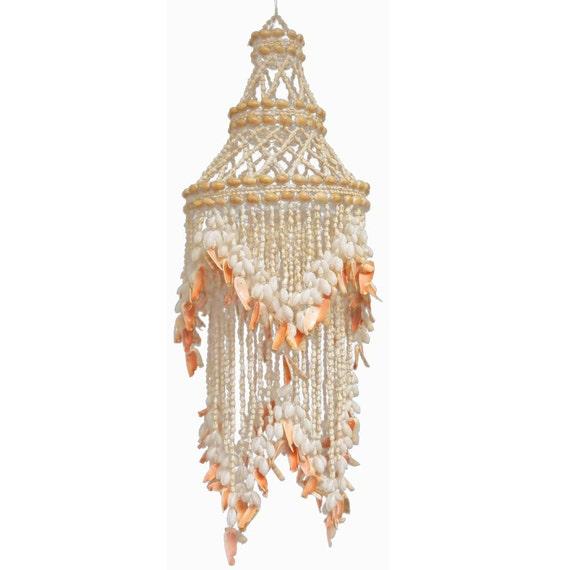 Seashell chandelier light pendant aloadofball Image collections