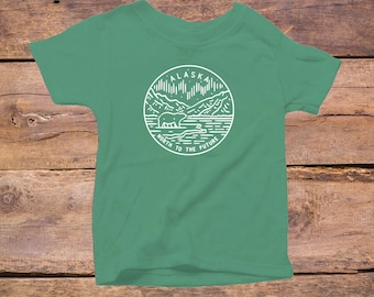 Alaska State Design - Eco Tri-Blend Infant T-Shirt