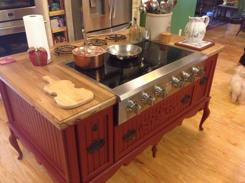 Kücheninsel mit Herd individuelle Küche Inseln Küche Insel