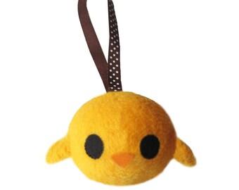 Keychain little chick handmade unique gift