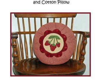 PDF Pattern -- Strawberry Season Pillow