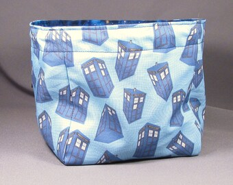 Large Doctor Who Blue Galaxy Dice Bag Pouch RPG Role Playing Game Geek leteam