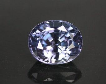 3.3 ctw. alexandrite color change loose gemstone.