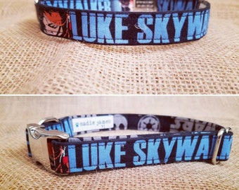 Luke and Leia Buckle Collars