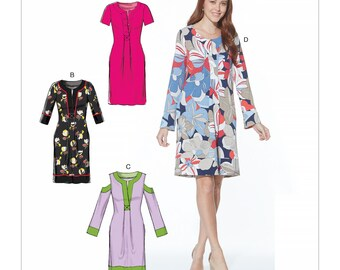 Fitted Dresses McCall's M7715 - Misses' Dresses