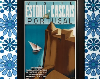 Portugal Travel Poster - 3 sizes available, one low price.