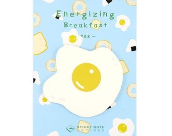 Cute Egg Sunny-side-up Sticky Memo Paper / Removable Notes / Post-it