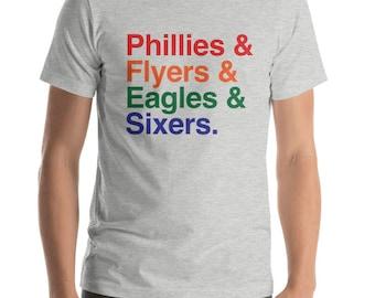 Philadelphia Shirt | Philadelphia Sports Shirt | Phillies Shirt | Flyers Shirt | Eagles Shirt | Sixers Shirt | Gifts for Dad | Gifts for Him