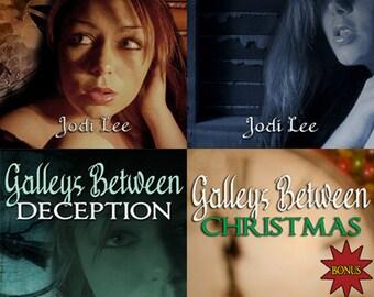 Galleys Between - 3 Novellas plus bonus Christmas story!