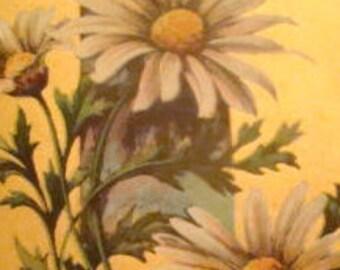 Vintage Floral Postcard # 6
