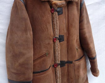 Genuine Orvis Over the Channel Shearling Parka Jacket Coat 82L4 RRP 1129