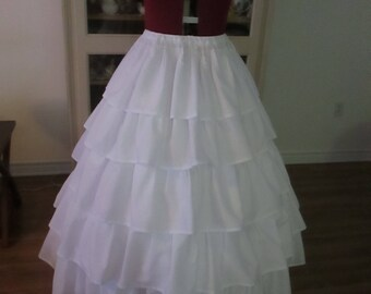 Civil War Petticoat, 1860-1865 Women's Clothing (S-M-L) #NB-15