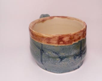 Ceramic Coffee Cup - Handmade Coffee Mug