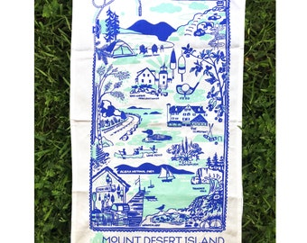 Mount Desert Island Tea Towel