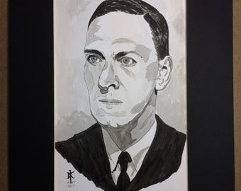 Original Drawing - H. P. Lovecraft