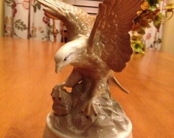 Beautiful Eagle Music Box by Otagiri and The Music Box Company