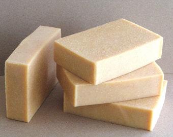 Spa agrumes salés savon savon barre de sel avec du lait de chèvre - savon naturel parfumé avec des huiles essentielles d'agrumes - ajouté du sel de mer - qualité Spa