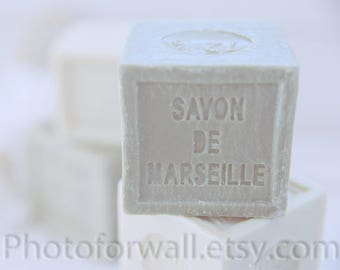 Rustic decor bathoom wall decor/set of 2 prints/French Soap Savon de Marseille/Bathroom Art/Shabby chic decor/personalized wall decor