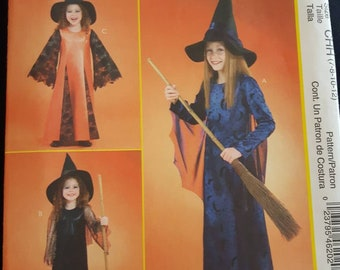 Butterick 4320, Girl's Witch Costume Pattern