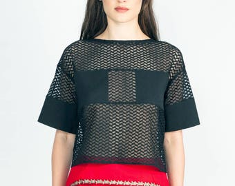 Pele lace T-shirt