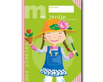 Notebook paper recycled garden children and adults