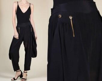 d7606b0fb2e Vintage 90s Harem Pants - Medium Large