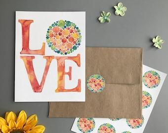 Love Note Card Set