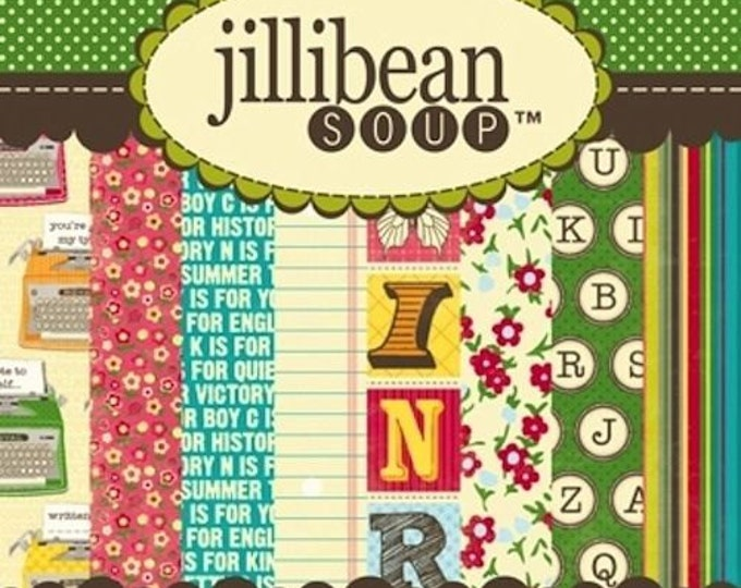 Jillibean Soup SWEET & SOUR SOUP 6x6 Paper Pad - Perfect for Cardmaking and Mini Albums!