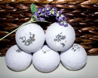 Lavender Chamomile Bath Bombs