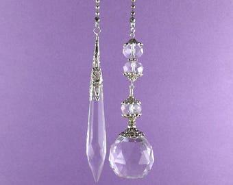 30mm Crystal Ball, Crystal Ceiling Fan Pulls, Crystal Fan Pull, Fan Pull, Light Pull, Crystal Light Pull, Lamp Pull, Crystal Lamp Pull