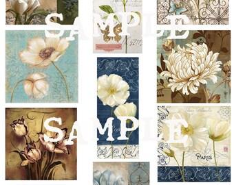 Jardin Digital Collage Sheet