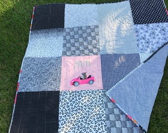 Big Block Lap Quilt