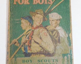 1942 Boy Scout Handbook - A Manual for Boy Scouts of America