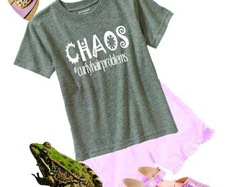 Chaos youth t shirt, customized t shirt