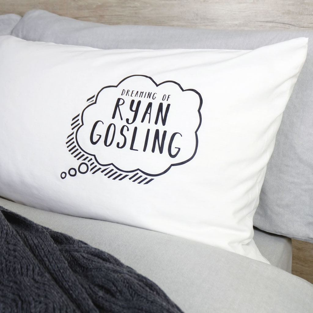Personalised Celebrity Pillow Case - funny pillow case - personalised pillow