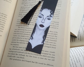 Beautiful Handmade Woman in Black Bookmark