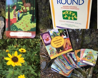 Card and Book Set Sale: The Mother's Wisdom Book and Cards; Circle Round book