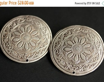 MOTHERS DAY SALE Set of Two Viking Apron Pins. Stamped Brooches. Viking Brooch Set. Shoulder Brooches. Silver Brooches. Viking Jewelry. Hist