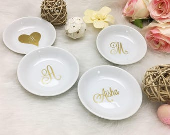 Personalized Ring Dish, Bridesmaid gifts, Personalized Bridesmaid Gifts Bridesmaid Jewelry, bridal shower gift