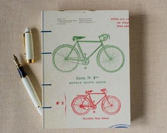 Vintage Bikes Notebook Sketchbook or Journal // Coptic