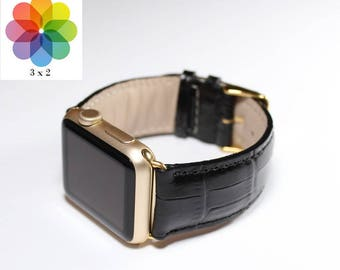 Leather Apple Watch Band 38mm, gift for her, Apple Watch Band 42mm, Gift for Him, Made in Italy, Genuine Leather iWatch Strap Apple Se